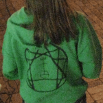 Example of the unknown symbol on green sweater